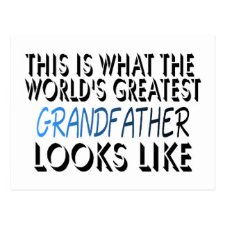 This Is What The World s Greatest Grandfather 2 Postcard