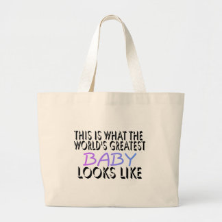 This Is What The World's Greatest Baby (2) Jumbo Tote Bag