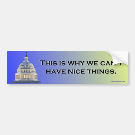 this is why we... bumper sticker