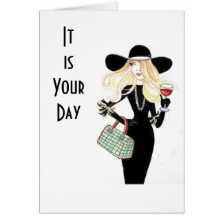 """THIS IS YOUR DAY """"CELEBRATE YOUR BIRTHDAY"""" GREETING CARD"""