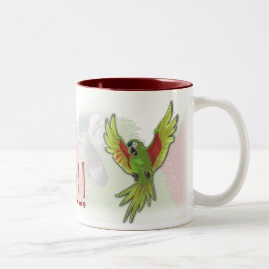 """This is your Wakeup Call!"" Two-Tone Coffee Mug"