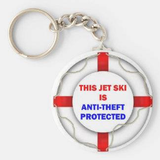 This Jet Ski is Anti Theft Protected Key Ring