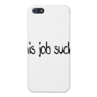 this job sucks cases for iPhone 5