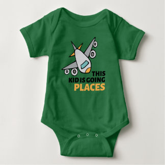 This Kid is Going Places Baby Bodysuit