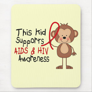 This Kid Supports AIDS Awareness Mouse Pad