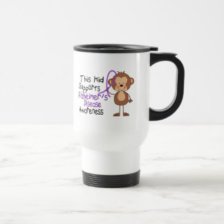 This Kid Supports Alzheimers Disease Awareness Stainless Steel Travel Mug