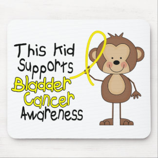 This Kid Supports Bladder Cancer Awareness Mouse Pad