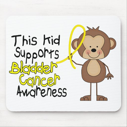 This Kid Supports Bladder Cancer Awareness Mousepad