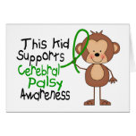 This Kid Supports Cerebral Palsy Awareness Card