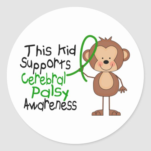 This Kid Supports Cerebral Palsy Awareness Sticker