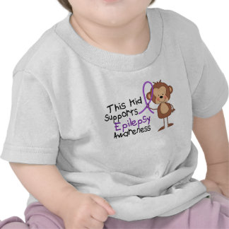 This Kid Supports Epilepsy Awareness Shirt