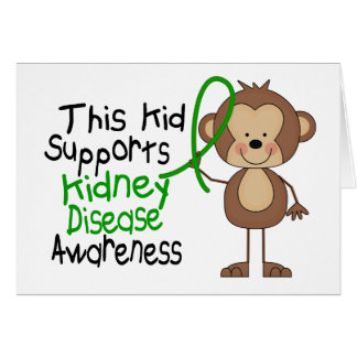 This Kid Supports Kidney Disease Awareness Cards