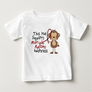 This Kid Supports Multiple Myeloma Awareness Baby T-Shirt