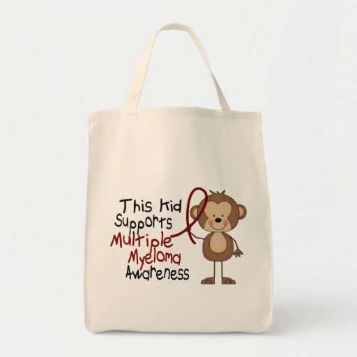 This Kid Supports Multiple Myeloma Awareness Bags
