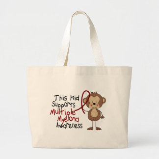 This Kid Supports Multiple Myeloma Awareness Jumbo Tote Bag