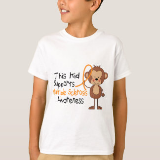 This Kid Supports Multiple Sclerosis Awareness T-Shirt