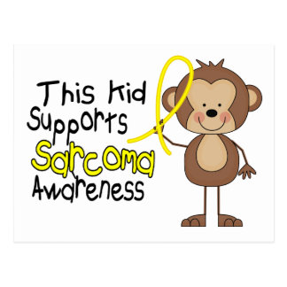 This Kid Supports Sarcoma Awareness Post Cards