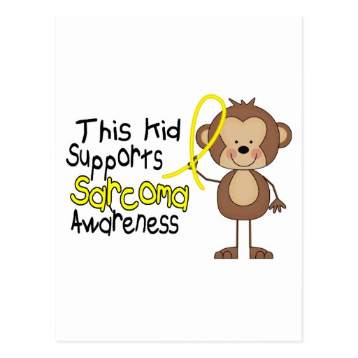 This Kid Supports Sarcoma Awareness Postcards