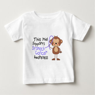 This Kid Supports Stomach Cancer Awareness Baby T-Shirt