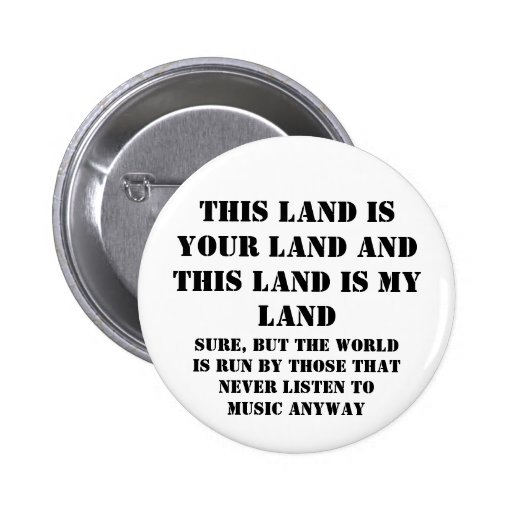 This land is my land pins