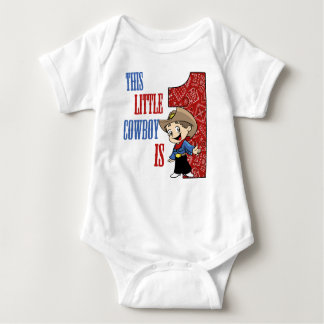 This Little COWBOY is 1 BIRTHDAY Tee