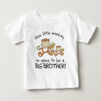 this little monkey big brother baby T-Shirt