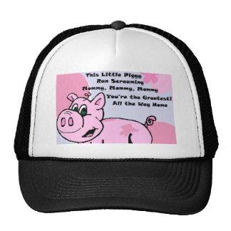 This Little Piggy Trucker Hats