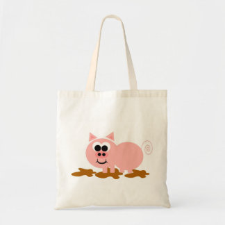 This Little Piggy Tote Bags