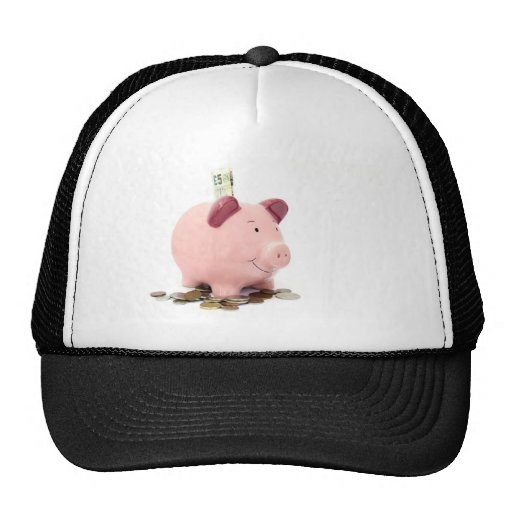 this little piggy went to the bank hat