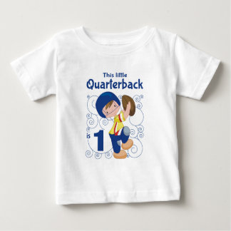 This Little Quarterback is 1 Tee Shirt