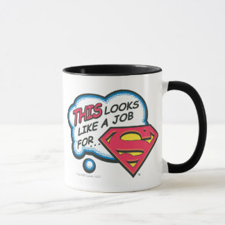 This Looks Like a Job for Superman Mug