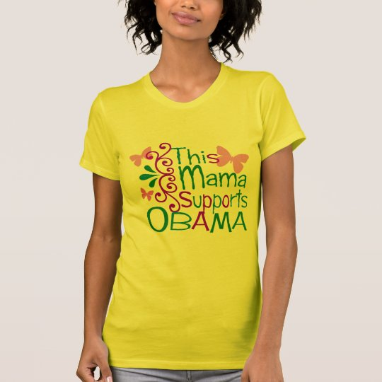 THIS MAMA SUPPORTS - Customised T-Shirt