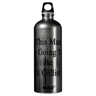 This Man Is Going To Be A Cellist SIGG Traveller 1.0L Water Bottle