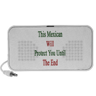 This Mexican Will Protect You Until The End Travel Speakers