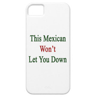 This Mexican Won't Let You Down iPhone 5 Case