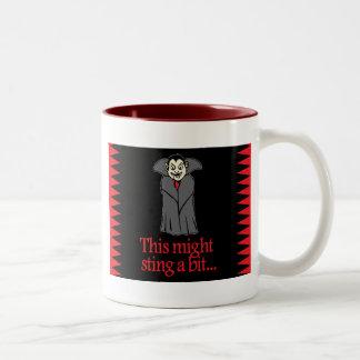 This might sting a bit Two-Tone mug