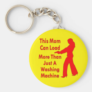 This Mom Can Load More Than Just A Washing Machine Key Chains