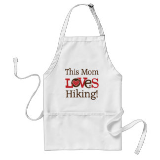 This Mom Loves Hiking Aprons