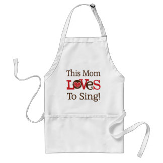 This Mom Loves To Sing Apron