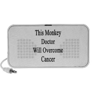This Monkey Doctor Will Overcome Cancer Speaker System