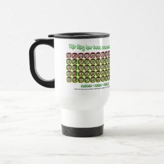 This mug has been reused... Reusable Travel Mug