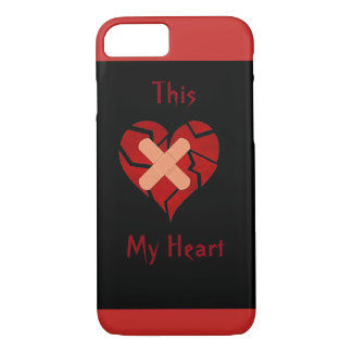 This My Broken Heart Case Cover