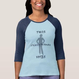 This NastyWoman Votes Blue T-Shirt