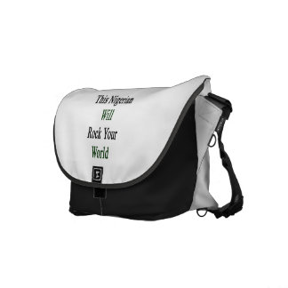 This Nigerian Will Rock Your World Courier Bags
