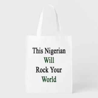 This Nigerian Will Rock Your World Market Totes