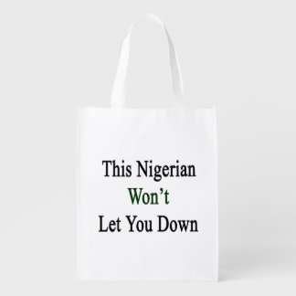 This Nigerian Won't Let You Down Market Totes