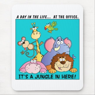This Office is a Jungle Mouse Mat