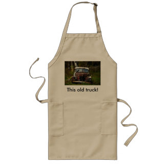 This old truck! aprons