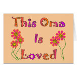 """""""This Oma is Loved""""  Mother's Day Gifts"""