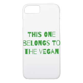 This one belongs to the vegan iPhone 8/7 case